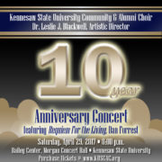 Spring 2017 – 10 Year Anniversary Concert